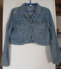 Veste/bolero en jean - denim bleu - 100% coton- 40