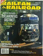 Railfan & Railroad March 2017 Pocahontas District Coal Country FREE SHIPPING sb