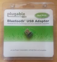 Plugable USB Bluetooth 4.0 Low Energy Micro Adapter(Windows10,8.1,8,7) USB-BT4LE