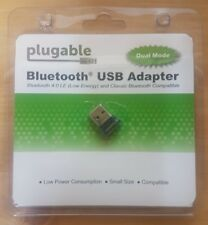 Plugable USB Bluetooth 4.0 Low Energy Micro Adapter(Windows10,8.1,8,7) USB-BT4LE
