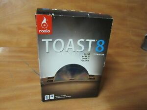 Roxio Toast 8 Titanium for MAC. New Sealed In Distressed Box. FAST FREE SHIPPING