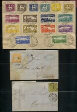 Wurttemberg Lot of 6 Covers / Post Cards 1856 - 1920 Incl. Officials