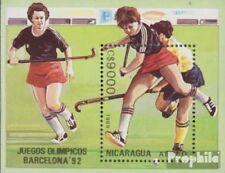 Nicaragua Block186 unmounted mint / never hinged 1989 Olympics Summer ´92