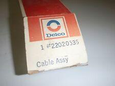 NOS GM DELCO Power Antenna Harness & Switch 1979-1981 Corvette 79 80 81 NEW