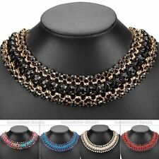 Rhinestone Alloy Choker 18 Fashion Necklaces & Pendants