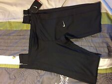 Womens Nike Essential Dri-Fit Running Tight Fit Black Size Small 645606-010