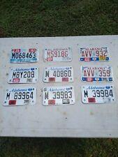 Alabama License Plate Lot Of 10 1999-2014