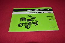 Deutz Allis Chalmers 611H Lawn Tractor Operator's Manual YABE16