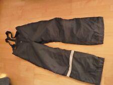 Winter H&M Schneehose Skihose Träger Gr.158 schwarz unisex