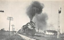 C55/ Meadow Junction Richmond Virginia Va Postcard 1947 Railroad ACL Extra 1808