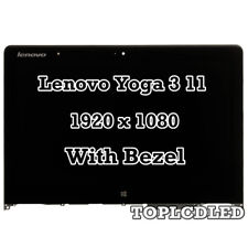 "11.6"" Lenovo Yoga 3 11 80J8 IPS LED LCD Touch Screen Digitizer Bezel Assembly"