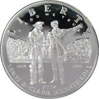 2004 P $1 Lewis and Clark Commemorative Silver Dollar US Coin Choice Proof