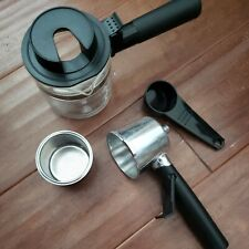 Espresso Machine Replacement Parts Filter Basket Holder Carafe Adapter NEW