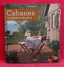 Cabanes une piece en plus - Sally Coulthard - Livre grand format - Occasion
