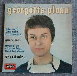 Georgette Plana, elle avait une robe à carreaux + 3 , EP - 45 tours