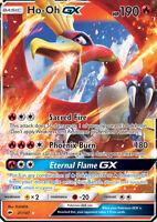 Ho-Oh GX 21/147 SM Burning Shadows Ultra Rare Holo Pokemon Card NEAR MINT TCG