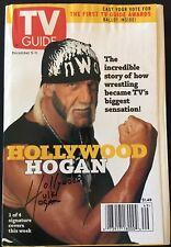 TV GUIDE: December 5 - 11 ~ WWF/WCW ~ HOLLYWOOD HOGAN