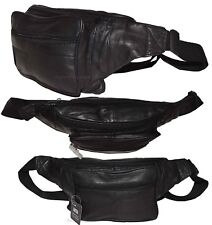 Leather waist pouch. waist bag, leather bag, Fanny pack 50 inch adjustable band