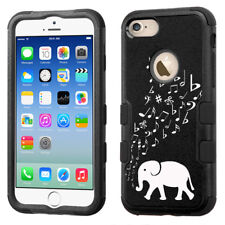 3-Layer Bumper Phone Case (Blk) for Apple iPhone 8 -  Elephant Music