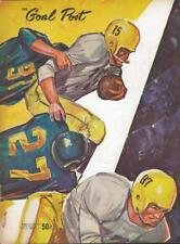 UCLA vs Pitt Football October 21 1961 ORIGINAL Program