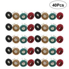 40PCS Abrasive Nylon Wheel Buffing Polishing Wheel Set for Dremel Rotary Tool
