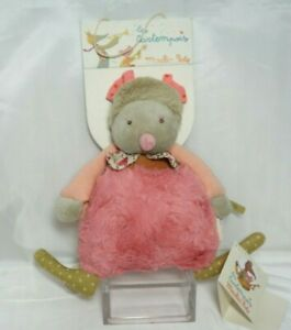 Moulin Roty Les Tartempois musical doll pink  NEW WITH TAGS