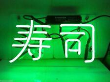 "14""x9""Sushi Neon Sign Light Restaurant Wall Hanging Nightlight Visual Artwork"