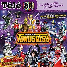 "CD NF ""TELE 80 : GENERATION TOKUSATSU"" San Ku Kai, X-Or, Bioman (特撮 - 特殊撮影)"