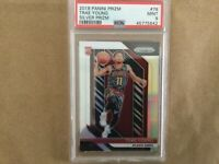 TRAE YOUNG Hawks 2018-19 Panini Prizm #78 Rookie Card RC SILVER Prizm PSA MINT 9