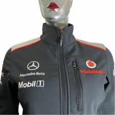 Vodafone McLaren Mercedes Hugo Boss Racing Sports Jacket Grey Soft Shell XS