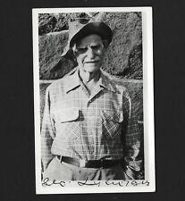 OPC Vintage RPPC Oldtimer Portrait Unused