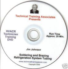 SOLDERING & BRAZING REFRIGERATION SYSTEM TUBING DVD