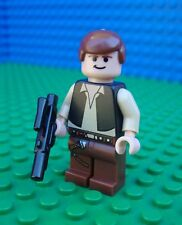 Lego Star Wars Han Solo Minifig Minifigure 8038 10123
