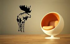 Wall Stickers Vinyl Decal Elk Hunting Nature Animal Prongs ig137