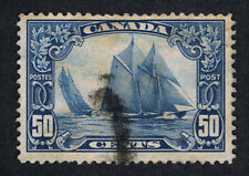 AFFORDABLE GENUINE CANADA SCOTT #158 VF POSTALLY USED 1929 BLUENOSE  ESTATE SALE
