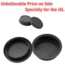 Body and Rear lens caps for CANON EOS camera & EF & EF-S lens 5D 7D 60D 650D 550