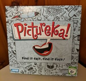 2007 PARKER BROS PICTUREKA! BOARD GAME PLAYERS 2 OR MORE AGES 6 +