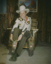 ROY ROGERS Vintage stunning quality Original Photo TRANSPARENCY Cowboy Boots