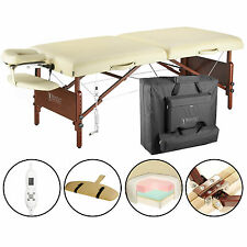 """Master Massage 30"""" Inch Del Ray Therma Top Portable Folding Table Sand"""