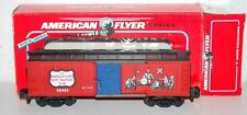 American Flyer 6-48483 Boys Railroad Club TV show Boxcar Gilbert commemorative S