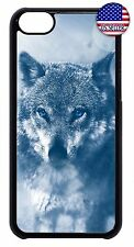 For Apple iPod 4 5 6 Wolf Wild Life Design Slim Hard Back Case Cover