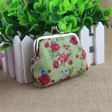 Handbag Retro Women Small Wallet Girls Change Coin Purse Hasp Clutch Card Holder Green