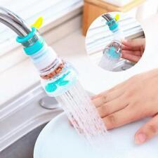 Cabeza De Grifo Filtro elástico de grifo de la cocina 360 ° Giratorio Boquilla Splash Universal