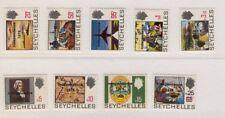 [ZZA-332]  -  Seychelles  - 1976  -  Ordinaria sovr.  9 val.    -  **  MNH