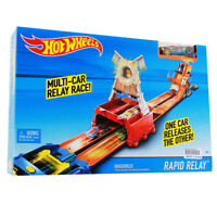 Hot Wheels Rapid Relay Race Track | Mattel CFC30
