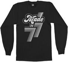 Made in 1977 Men's Long Sleeve T-Shirt 40th Birthday Party Gift 77