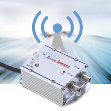 20DB 2 vías Cable TV Amplificador Booster de señal de antena Divisor HDTV AMP ZZ