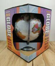 Vintage Globemaster World Globe Raided Surface Topography 1991 - In Box USA Made