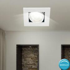 ALU Einbau Spot Decken Leuchte weiß Schlaf Zimmer Beleuchtung Lampe beweglich