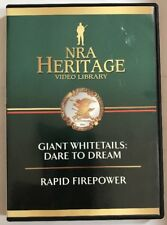 NRA Heritage Video Library DVD Giant Whitetails Dare To Dream Rapid Firepower